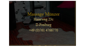 Massagestudio Münzer Freiburg